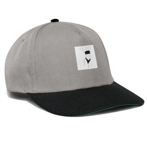 Kvinne i undertøy - Minimalistisk - Snapback-caps