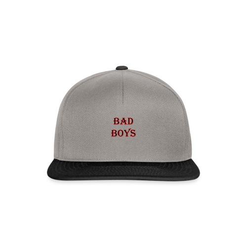 bad boys black red - Casquette snapback