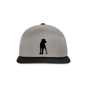 Dogge - freie Farbwahl - Snapback Cap
