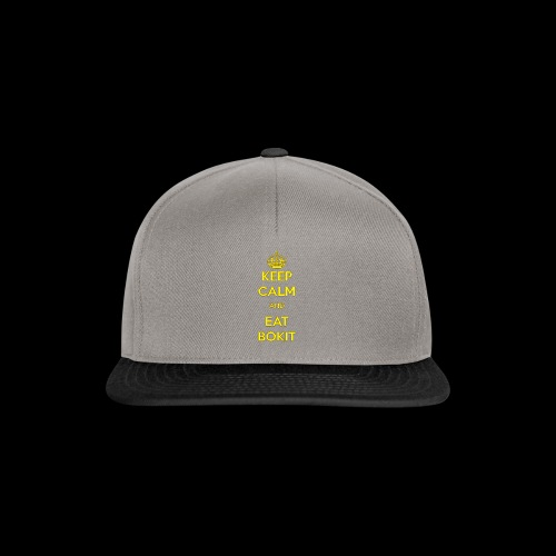 Bokit Keep Calm - Casquette snapback