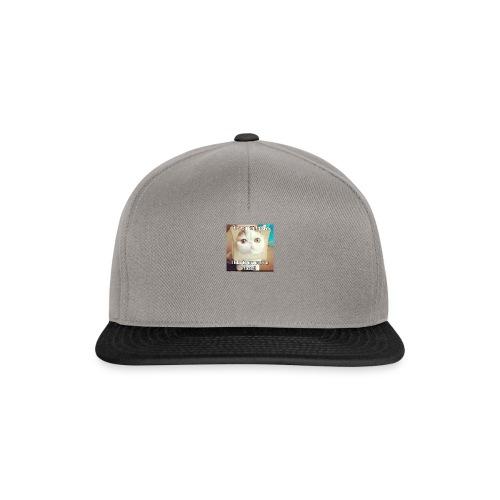 grappige kat - Snapback cap