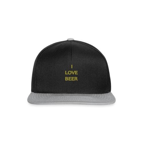 I LOVE BEER - Snapback Cap