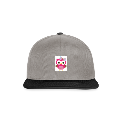 Girly Owl - Snapback Cap