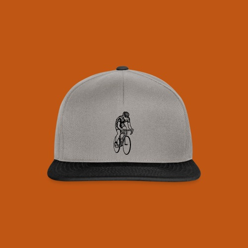 Rennrad / Racing Bicycle 01_schwarz - Snapback Cap
