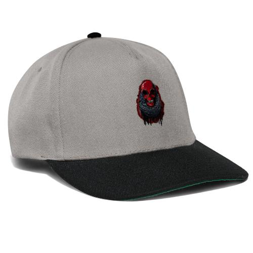 Red Skull in Chains - Snapback Cap