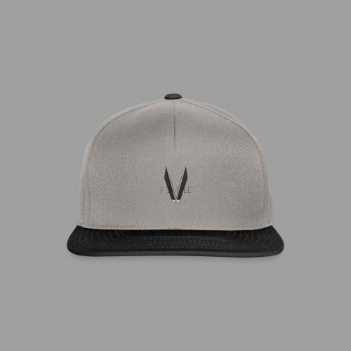 V shaped with logo png - Snapback Cap
