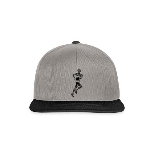 runner running - Snapback Cap