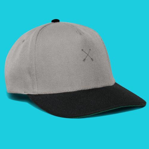 crossed arrows - Snapback Cap