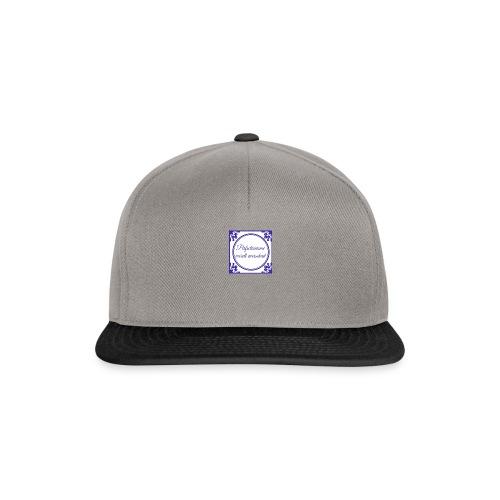 tegeltje perfectionisme - Snapback cap