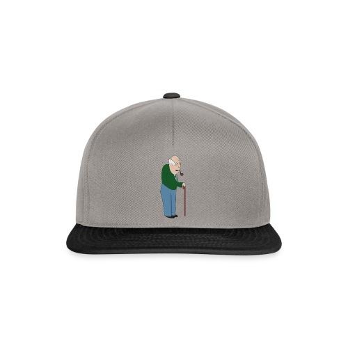 Old Tosspot - Snapback Cap