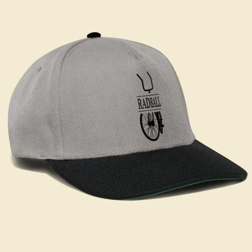 Radball | Retro Black - Snapback Cap