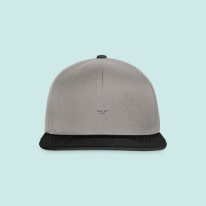 Blind as a Bat - Black - Casquette snapback