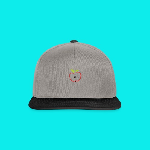 halber Apfel - Snapback Cap