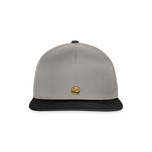 Burger Cartoon - Snapback cap