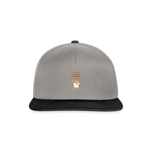 Het grote Corona Hamsterweekend! - Snapback cap