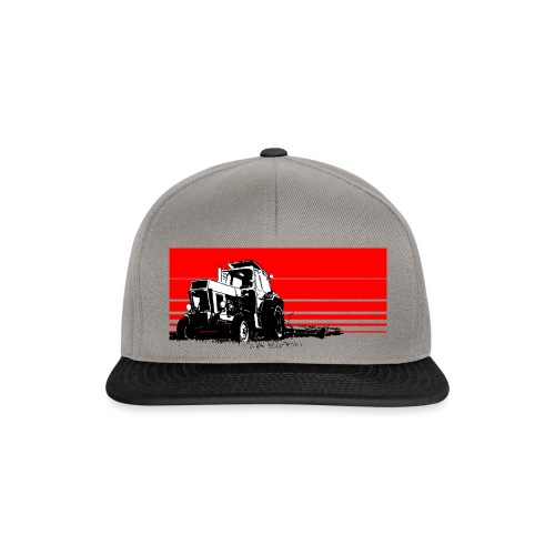 Sunset tractor - Snapback Cap