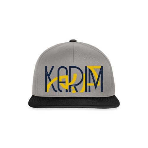 T-Shirt Prenom Arabe KARIM - Casquette snapback
