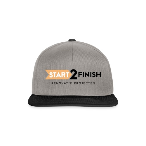Start to finish - Snapback cap
