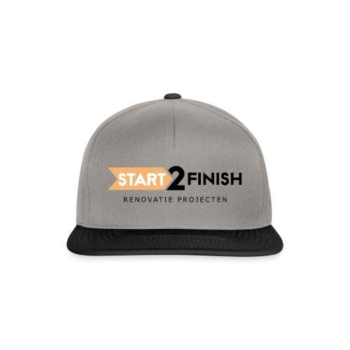 Start to finish - Snapback cap
