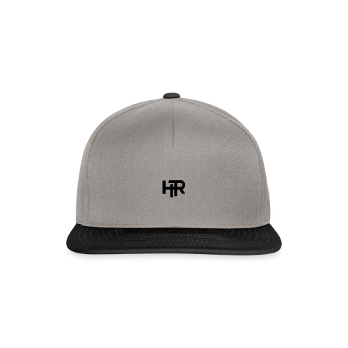 HR Logo black - Casquette snapback