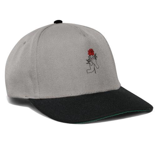 Fiore rosso - Snapback Cap