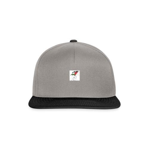 Hvid hættetrøje - Snapback Cap