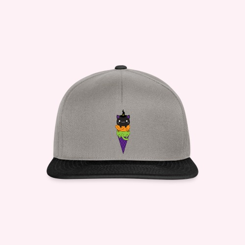Cat Cream - Halloween - Snapback Cap