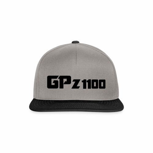 GPz 1100 Black - Snapback Cap