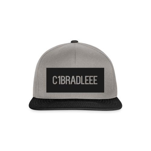C1bradleee Text Logo - Snapback Cap