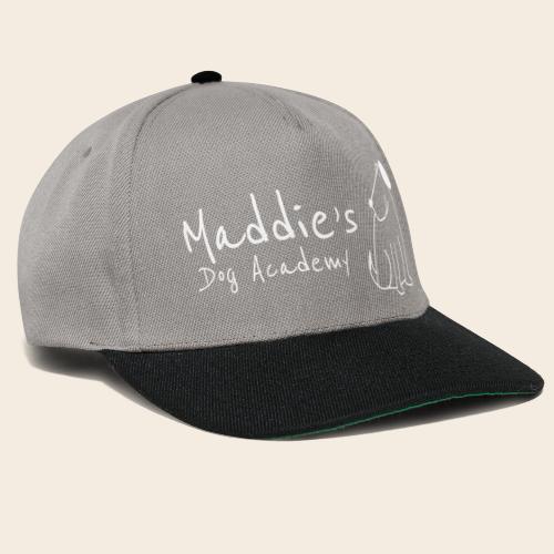 Académie des chiens de Maddie (blanc) - Casquette snapback