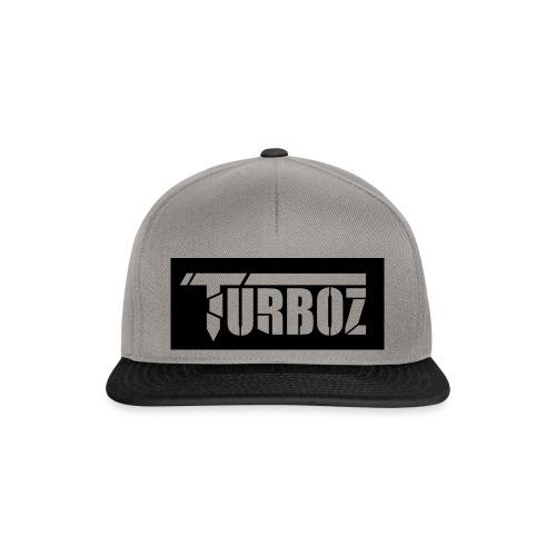 Black Turboz Background - Snapback Cap