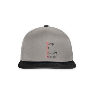 KISS - Keep It Simple Stupid - Snapback-caps