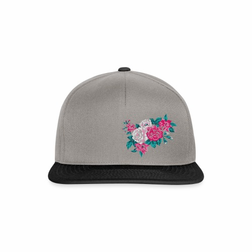 isha flowers 1 - Snapback Cap