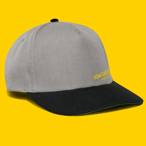 logo1yel - Snapback Cap