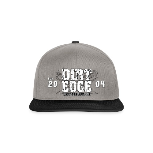 DIRT-EDGE Logo EST - Snapback Cap