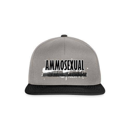 Ammosexual (short basecap design) - Snapback Cap