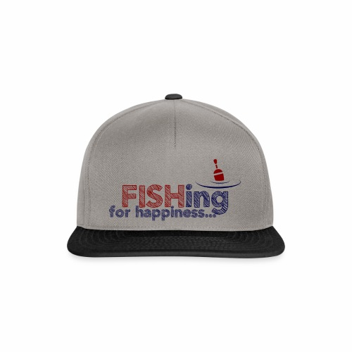 Fishing For Happiness - Snapback Cap