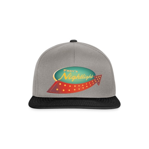 FRDY's Nightlight Logo - Snapback Cap