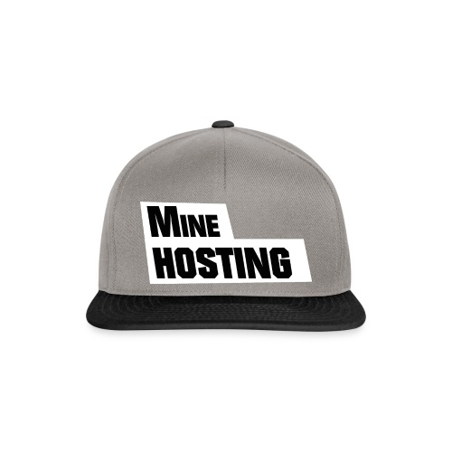 Mine Hosting Corporate Kampagne Design 2 - Snapback Cap