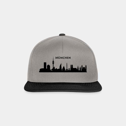 München Skyline - Snapback Cap