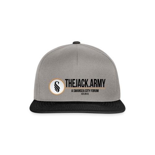 TJA Black - Snapback Cap