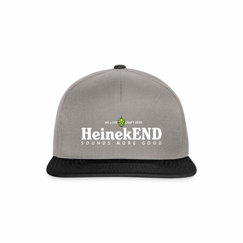 HeinekEND scritta bianca - Snapback Cap