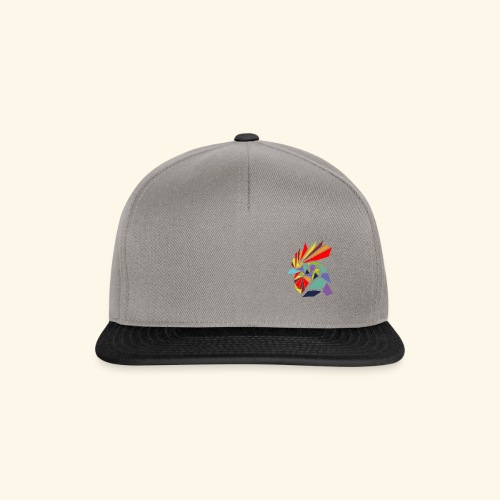 Abstrakter Hahn - Snapback Cap
