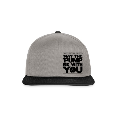 BarbellBastards May the PUMP be with you - Snapback Cap