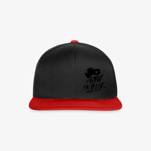RAW INSIDE - Snapback Cap