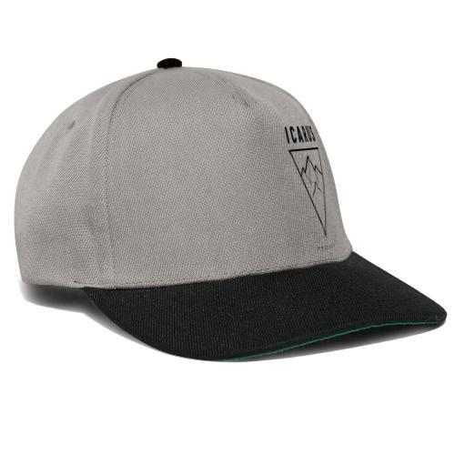 ICARUS LOGO schwarz - Snapback Cap