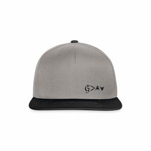 God is greater - black - Snapback Cap