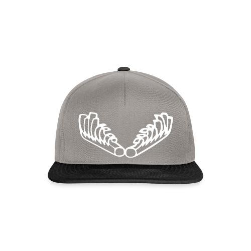 Kiehiset_logo_valk_vetoketjuhuppari - Snapback Cap