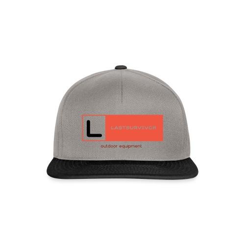 lastsurvivor orange brand - Snapback Cap