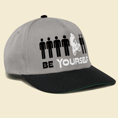 Radball   Be Yourself - Snapback Cap